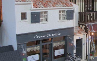 """La boutique de décoration """"Grain de sable"""" de Caroline (chambre d'hôte à l'étage)"""