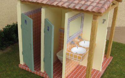 Le bloc sanitaire du camping, de Framboise et Micki