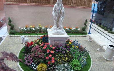 Le square avec statue de Framboise