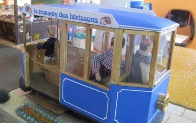 Le tramway de Framboise et Micki