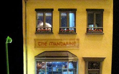 """Le salon de thé """"Thé Mandarine"""" de Lescargote"""