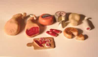 Le stand de produits basques de Minimayo