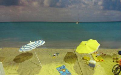 La plage de Framboise et Micki