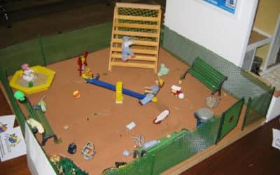 L'aire de jeux pour enfants de Macri