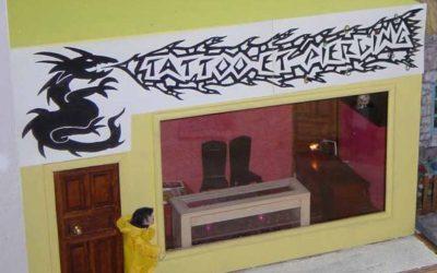 Le studio de tatoo et piercing de Stéphanie